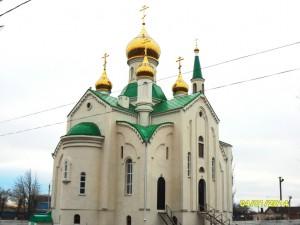 Фото № 5.Новостроящийся Свято-Никольский храм ст. Егорлыкской