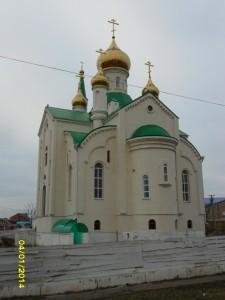Фото № 6.Новостроящийся Свято-Никольский храм ст. Егорлыкской