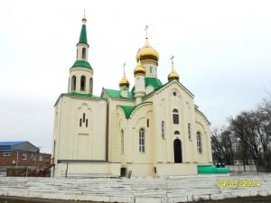 Фото № 7.Новостроящийся Свято-Никольский храм ст. Егорлыкской