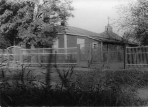 Фото №3 Воссозданный храм в 1992г. ст. Егорлыкской